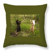 Everglades City Glamour 152 Throw Pillow