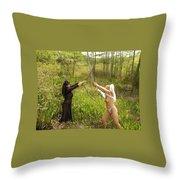 Everglades City Glamour 154 Throw Pillow