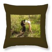Everglades City Glamour 155 Throw Pillow