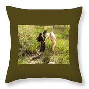 Everglades City Glamour 156 Throw Pillow