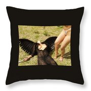 Everglades City Glamour 157 Throw Pillow