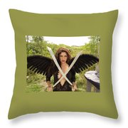 Everglades City Glamour 172 Throw Pillow