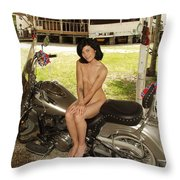 Everglades City Photography By Lucky Cole Throw Pillow