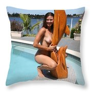 Everglades City Professional Photographer 351 Throw Pillow