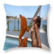 Everglades City Professional Photographer 368 Throw Pillow