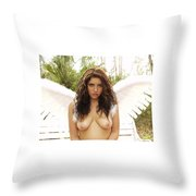 Everglades City Professional Photographer 4170 Throw Pillow