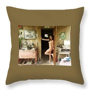 Everglades City Professional Photographer 707 Throw Pillow