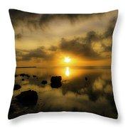 Everglades Sunrise Throw Pillow