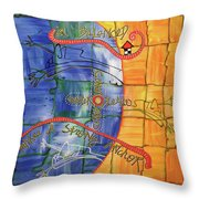 eVertigo Throw Pillow