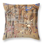 Everwatchful Throw Pillow by J R Seymour