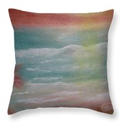 Every Breaking Wave Throw Pillow