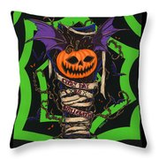 Every Day Is Halloween Throw Pillow