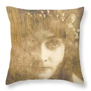 Every Man Will Say That They Love You Throw Pillow by Paul Lovering