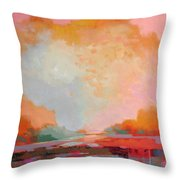 Every Morning A Revolution Throw Pillow