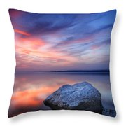 Every Stone Has A Place Throw Pillow