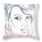 Every Woman - Eve Throw Pillow