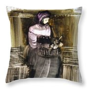 Every Work Is A Prayer Throw Pillow