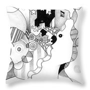 Everybody Dreams Throw Pillow