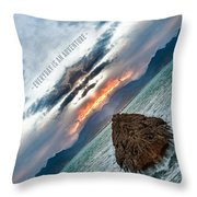 Everyday Is An Adventure Throw Pillow