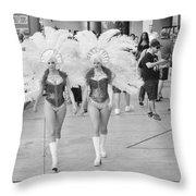 Everyday Showgirls  Throw Pillow