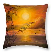 Everyday Sunrise Throw Pillow