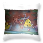 Everything Has A Journey Throw Pillow
