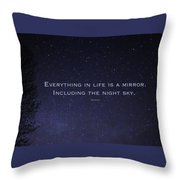 You Are My Star Throw Pillow