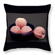 Everything Is Just Peachy Throw Pillow