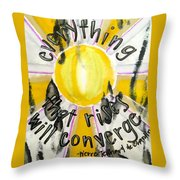 Everything That Rises Throw Pillow