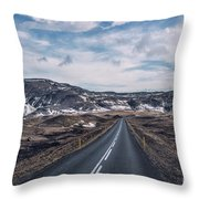 Everywhere My Heart Goes Throw Pillow