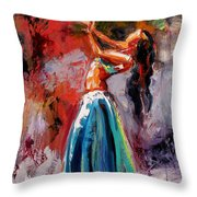 Eve's Dance Throw Pillow