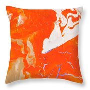 Evidence Of Angels Throw Pillow