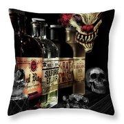 Evil Alchemy Throw Pillow