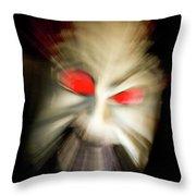 Evil Lust Throw Pillow