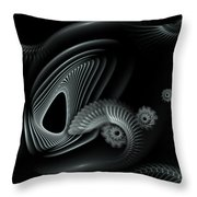Evincing Insatiability Throw Pillow