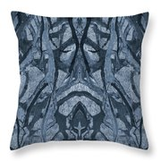 Evolutionary Branches Throw Pillow