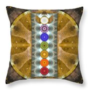Evolving Light Throw Pillow by Bell And Todd