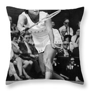 Evonne Goolagong (1951- ) Throw Pillow by Granger