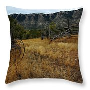 Ewing-snell Ranch 2 Throw Pillow