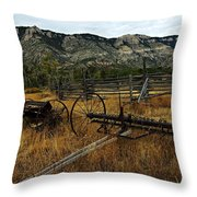 Ewing-snell Ranch 4 Throw Pillow