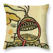 Examining  The  Federal Government Throw Pillow