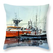 Excalibur Throw Pillow