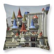 Excalibur View Throw Pillow