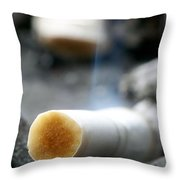 Excess Throw Pillow
