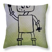 Excused Throw Pillow