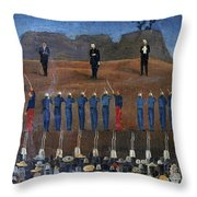 Execution Of Maximilian Throw Pillow