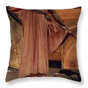 Execution Without Trial Under The Moorish Kings In Granada Throw Pillow by Henri Alexandre Georges Regnault