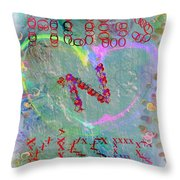 Exes And Ohs Throw Pillow