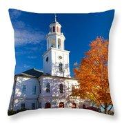 Exeter Congregational Church Throw Pillow