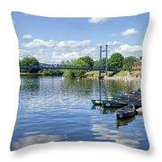 Exeter Quays 2 Throw Pillow